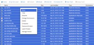 انتقال فایل های وردپرس به پوشه public_html