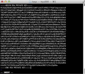 لاگین کردن ارتباط SSH با کلید خصوصی
