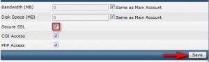 مرحله دهم نصب گواهینامه SSL بر روی دایرکت ادمین