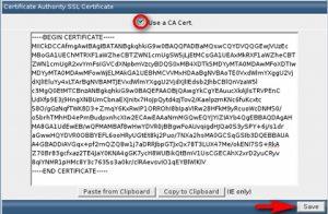 مرحله هشتم نصب گواهینامه SSL بر روی دایرکت ادمین