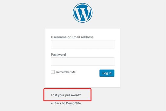 بازیابی رمزعبور وردپرس به وسیله phpMyAdmin
