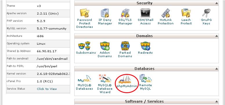 بازیابی رمزعبور کاربر ادمین جوملا به وسیله phpMyAdmin