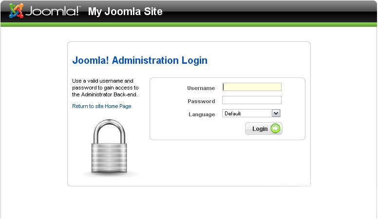 بازیابی رمز عبور joomla