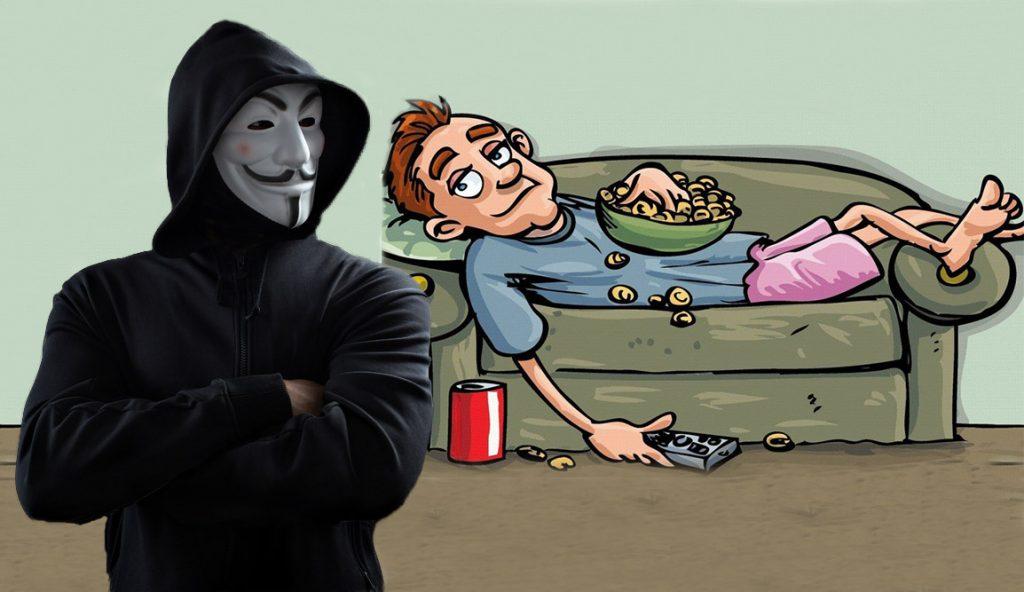 هکرها آدمهای تنبل را دوست دارند