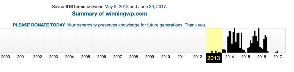 14. تاریخچهی دامنه را توسط Wayback Machine بررسی کنید.