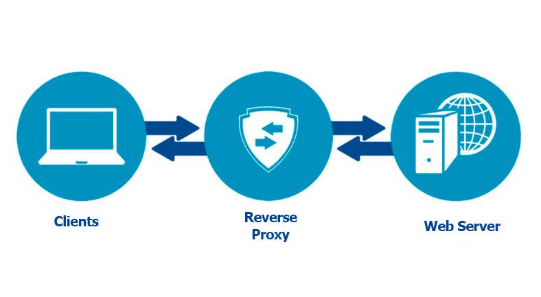 راه اندازی Reverse Proxy Server