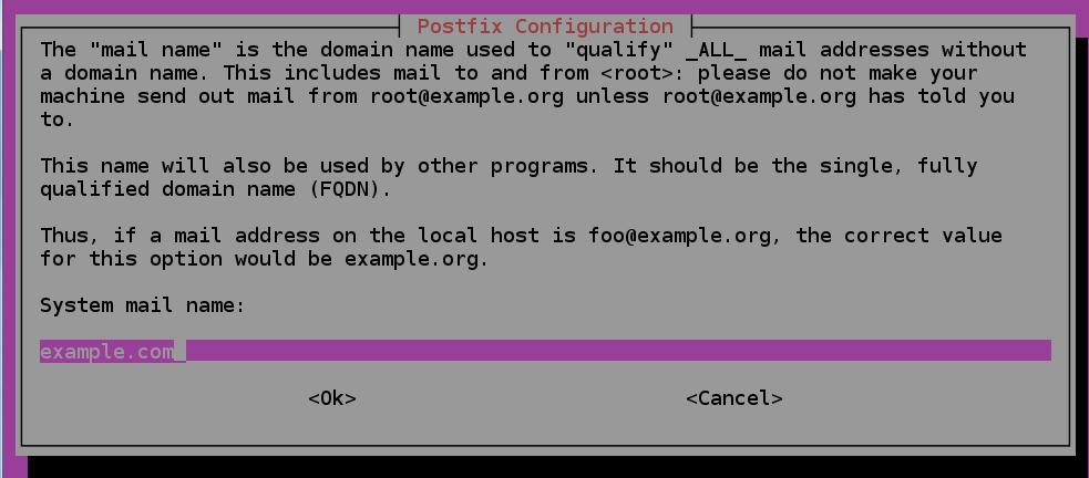 نصب و راه اندازی Postfix MTA روی Ubuntu 18.04 به عنوان فرستنده