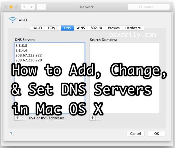چطور DNS را تغییر دهیم