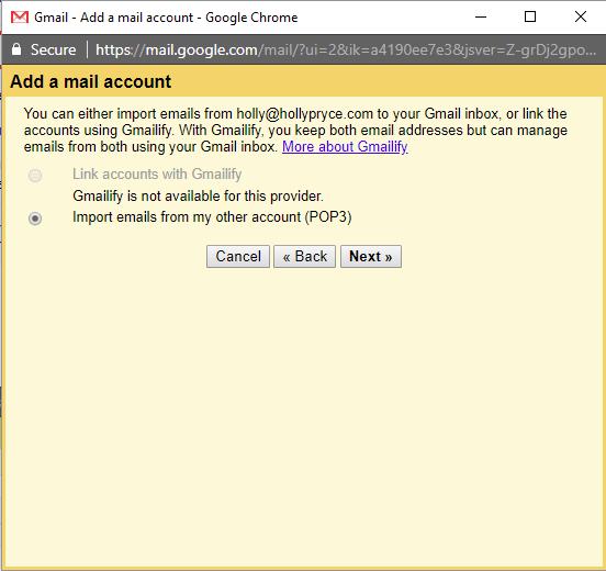 اتصال ایمیل هاست سی پنل به جیمیل