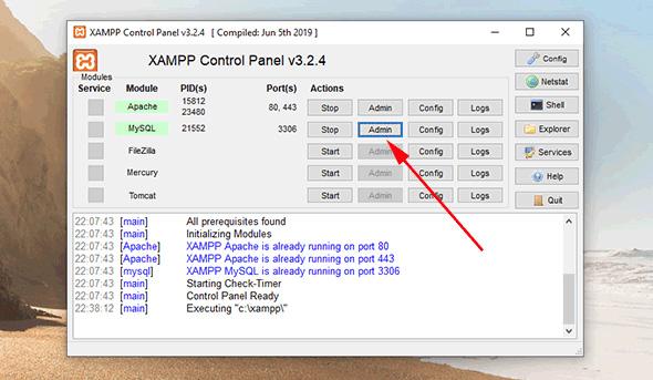نصب وردپرس در لوکال هاست Xampp