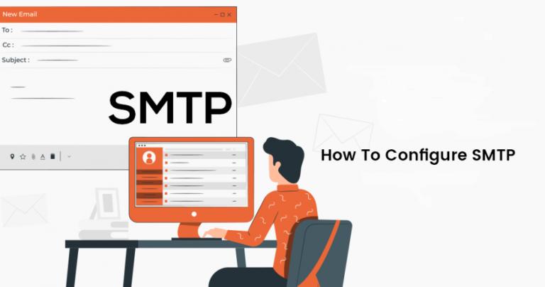 تنظیمات سرور SMTP